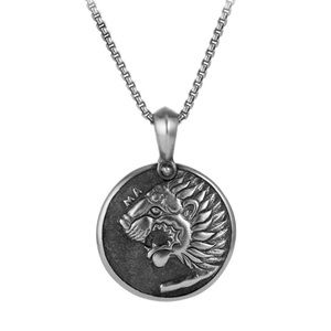 DAVID YURMAN • Petrvs Lion Amulet Necklace